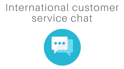 Support clients multilingue et multicanal (par tchat).